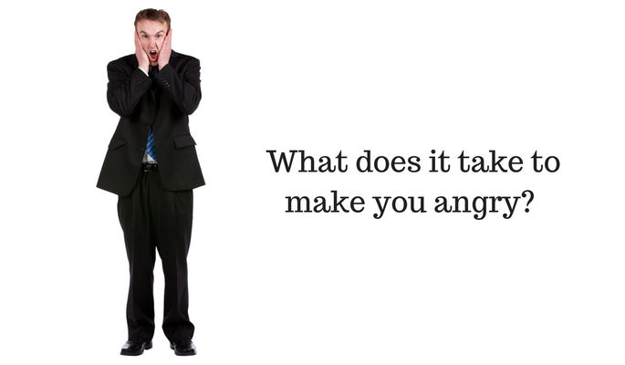 What Does It Take to Make You Angry?