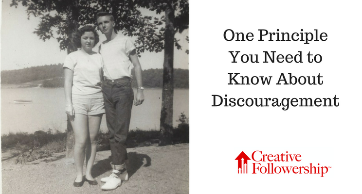 One Principle You Need to Know About Discouragement
