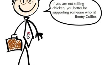 Nothing Happens Until Somebody Sells Something