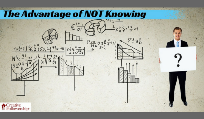 The Advantage of Not Knowing